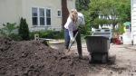 My favorite Bruce Company compost.  Digging in Dirt...nothing better!!!